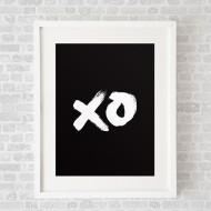 XOBlack_FramedWhite